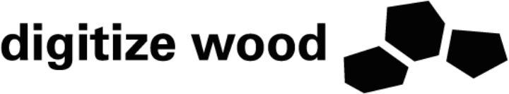Logo Digitize Wood schwarz
